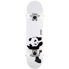 Enjoi Panda Soft Top Youth Skateboard Complete - Whitey - 6.75""