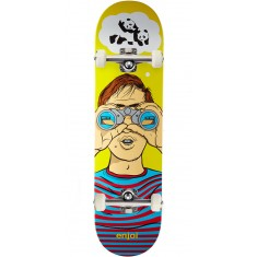 Enjoi Peeper R7 Skateboard Complete - Yellow - 8.25