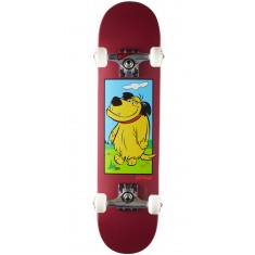 Almost Muttley Youth Skateboard Prebuilt Complete - Burgundy - 7.0
