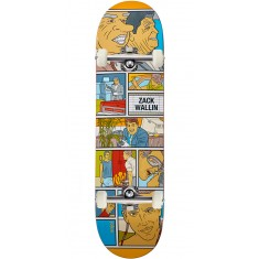 Enjoi Movie Night Impact Light Skateboard Complete - Zack Wallin - 8.25