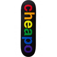 Enjoi Cheapo Hybrid Skateboard Deck - Black - 8.375