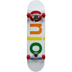 Enjoi Spectrum Soft Wheels Skateboard Complete - White - 7.5