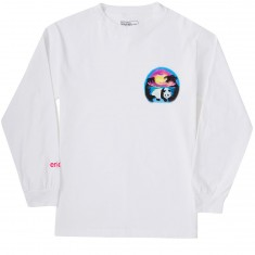Enjoi Airbrushed Panda Long Sleeve T-Shirt - White