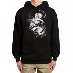 Zero Faces Of Death Pullover Hoodie - Black