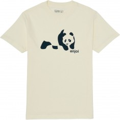 Enjoi Panda Splice T-Shirt - Cream