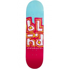Blind Jumble Split Hybrid Skateboard Deck - Blue/Pink - 8.0