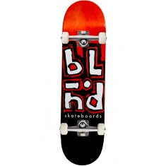 Blind Jumble Split Hybrid Skateboard Complete - Red/Black - 8.25