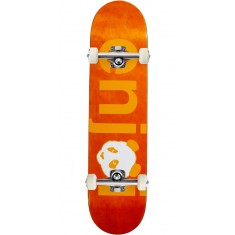 Enjoi No Brainer Hybrid Skateboard Complete - Orange - 7.75