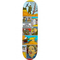 Enjoi Movie Night R7 Skateboard Deck - Louie Barletta - 8.0