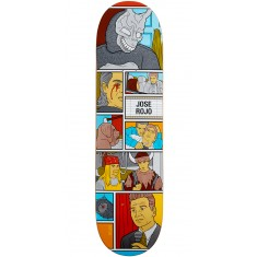 Enjoi Movie Night R7 Skateboard Deck - Jose Rojo - 8.25