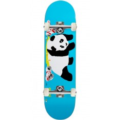 Enjoi Party Panda R7 Skateboard Complete - Blue - 8.25