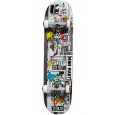 Almost Stuck-O-Rama Skateboard Complete - Black - 7.75