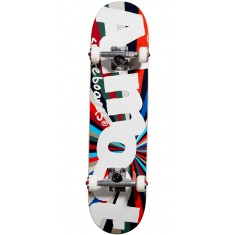 Almost Off Center Skateboard Complete - Red/Blue - 7.375
