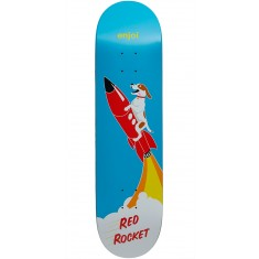 Enjoi Red Rocket R7 Skateboard Deck - Blue - 8.125