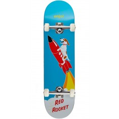 Enjoi Red Rocket R7 Skateboard Complete - Blue - 8.125