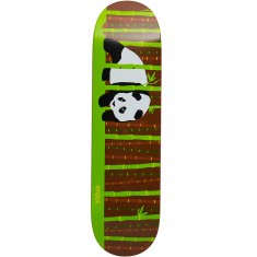 Enjoi Bamboo Poo Panda R7 Skateboard Deck - Brown - 8.375