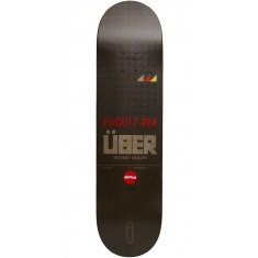 Almost Uber EX17 Black Skateboard Deck - Rodney Mullen - 8.0
