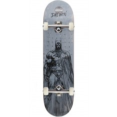 Almost Batman Pencil Sketch R7 Skateboard Complete - Daewon Song - 8.125
