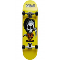 Blind New Bone Thug Youth Skateboard Complete - Yellow - 7.375