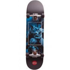 Almost Batman Fight Club Youth Skateboard Complete - Blue - 7.25