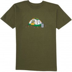 Enjoi Skateboards Camping T-Shirt - Military Green