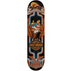 Darkstar Harley-Davidson Eagle Skateboard Deck - Yellow - 7.875