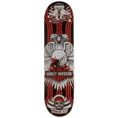 Darkstar Harley-Davidson Eagle Skateboard Deck - Orange - 8.125