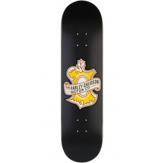 Darkstar Harley-Davidson Oak Leaf Skateboard Deck - Black - 8.0