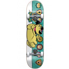 Almost Muttley Plaque Youth Skateboard Complete - Teal - 7.0