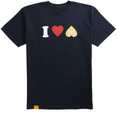 Enjoi Heart Hearts T-Shirt - Navy