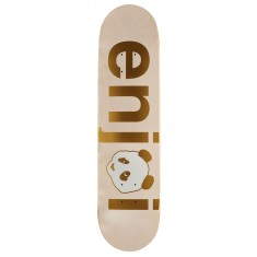 Enjoi No Brainer HYB Skateboard Deck - Gold - 7.75""
