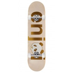 Enjoi No Brainer HYB Skateboard Complete - Gold - 7.75""
