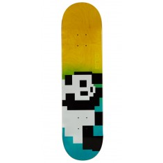 Enjoi 8 Bit Panda R7 Skateboard Deck - Blue/Yellow - 8.00""