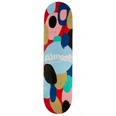 """Almost Spotted HYB Skateboard Deck - Red - 8.00"""""""