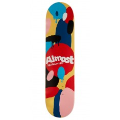 Almost Spotted HYB Skateboard Deck - Cream - 7.75""