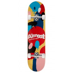 Almost Spotted HYB Skateboard Complete - Cream - 7.75""