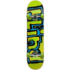 Blind OG Logo Fade Skateboard Complete - Green/Yellow - 7.50""