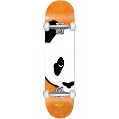 Enjoi Big Head Panda Skateboard Complete - Orange - 7.00""
