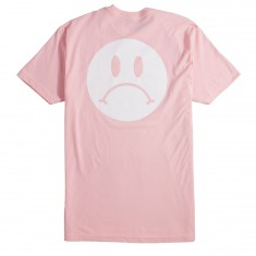 Enjoi Frowny Face Premium T-Shirt - Pink