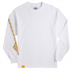 Enjoi The Bird Longsleeve T-Shirt - White