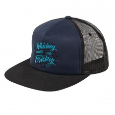 Enjoi Whisky Makes Me Frisky Hat - Navy/Black