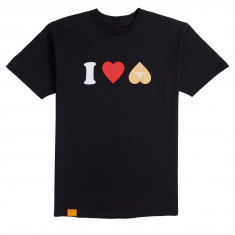 Enjoi Heart Hearts T-Shirt - Black