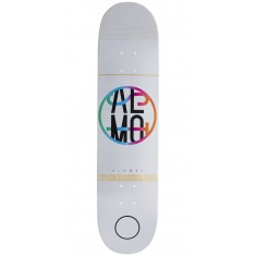 Almost Color Crash HYB Skateboard Deck - White - 7.50""