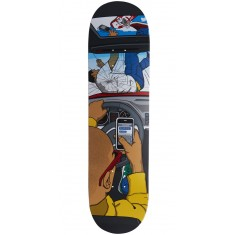 Almost Text Death R7 Skateboard Deck - Youness Amrani - 8.375""