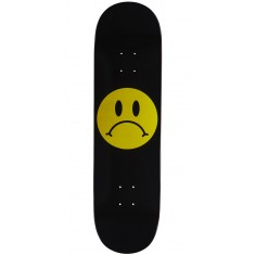 Enjoi Frowney Face R7 Skateboard Deck - Black - 8.375""