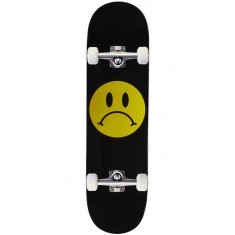 Enjoi Frowney Face R7 Skateboard Complete - Black - 8.375""
