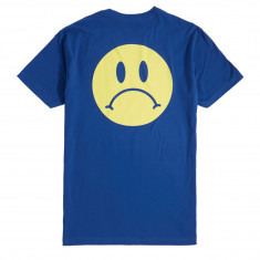 Enjoi Frowny Face Premium T-Shirt - Royal Blue