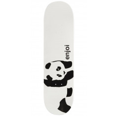 Enjoi Whitey Panda Logo Wide R7 Skateboard Deck - 8.375""