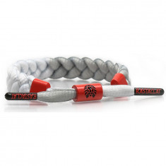 Rastaclat Classic OG Infrared Bracelet - Grey/White/Red