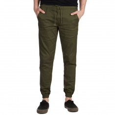 Fairplay Runner Pants - Olive